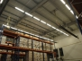 Storage hall: gas installation, infrared heating – gas tube infrared heaters