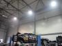 Hala montażowo-serwisowa: instalacja gazowa, ogrzewanie promiennikowe – promienniki gazowe